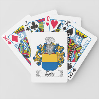 Trotti Family Crest Bicycle Poker Cards