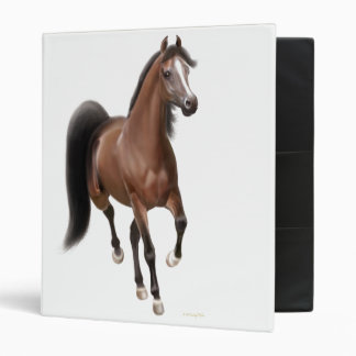 Trotting Arabian Horse Avery Binder