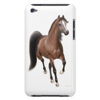 Trotting Arabian Horse iPod Touch Case