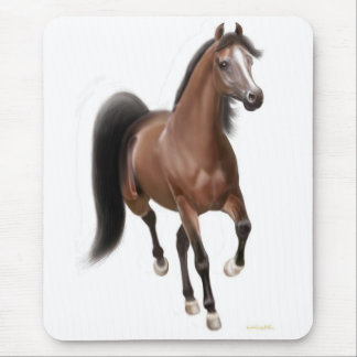 Trotting Arabian Horse Mousepad