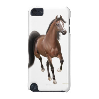 Trotting Bay Arabian Horse iPod Touch 4G Case iPod Touch 5G Covers