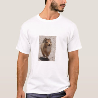 trotting collie puppy T-Shirt