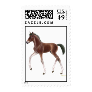 Trotting Foal Postage