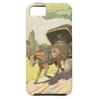 Trotting Horse and Buggy iPhone SE/5/5s Case