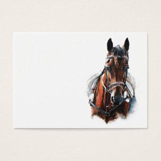 trotting horse art. Customize me. Business Card