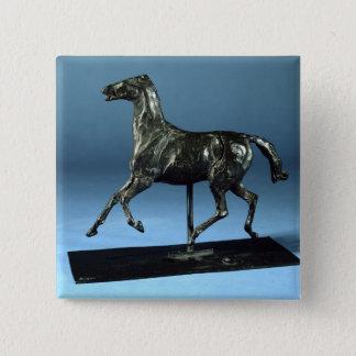 Trotting Horse (bronze) Button
