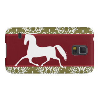 Trotting Horse Holiday Christmas Case For Galaxy S5