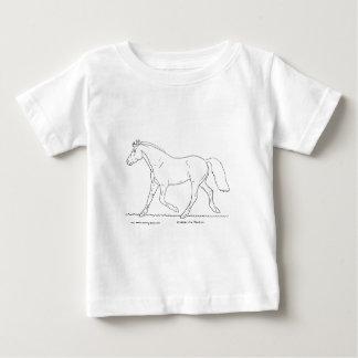 Trotting Horse Tee Shirt