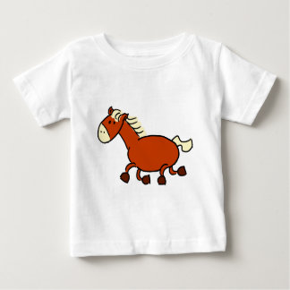 Trotting Pony Baby T-Shirt
