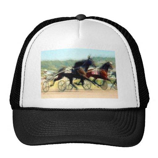 trotting power horse racing hats