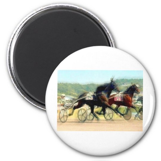 trotting power horse racing magnet