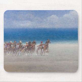Trotting Races Lancieux Brittany 2014 Mouse Pad