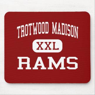 Trotwood Madison - espolones - alta - Dayton Ohio Alfombrilla De Raton