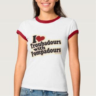 Troubadors with Pompadours T-Shirt