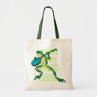 Troubadour Toad Tote Bag