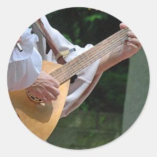 Troubadours Sticker