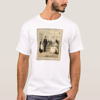 Trouble At T' Mill - 1900's Vintage Illustration T-Shirt