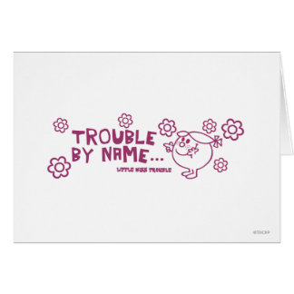 Trouble By Name Card
