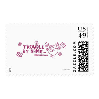 Trouble By Name Postage Stamp