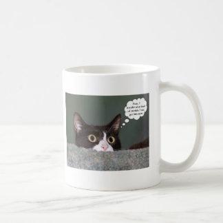 Trouble cat mug