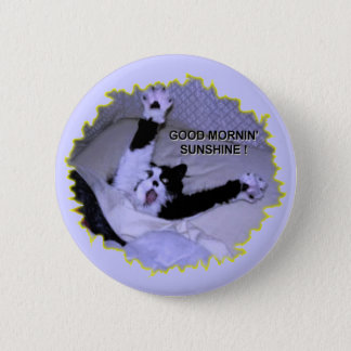 TROUBLE GETTING OUT OF BED PINBACK BUTTON