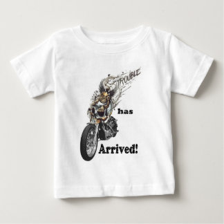 Trouble has Arrived Infant T-shirt