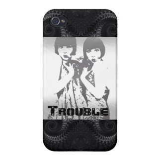 Trouble Cases For iPhone 4