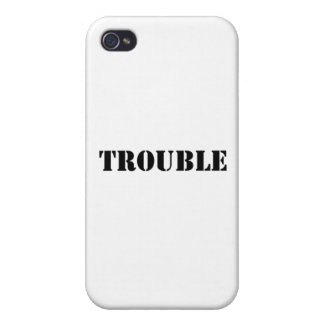 trouble case for iPhone 4