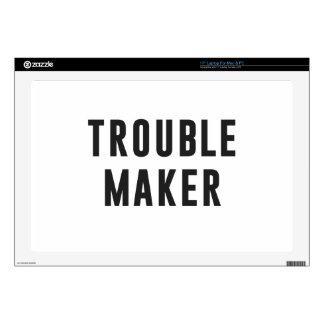 """Trouble maker 17"""" laptop skin"""