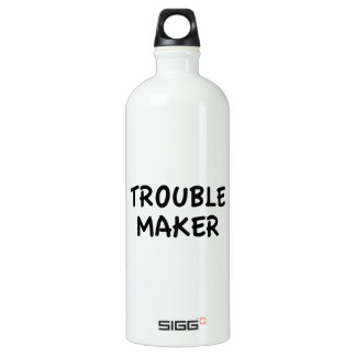 Trouble Maker Aluminum Water Bottle