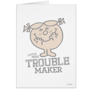 Trouble Maker Card
