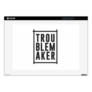"""Trouble maker decals for 15"""" laptops"""