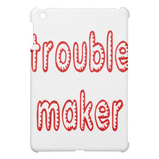 Trouble Maker iPad Mini Case
