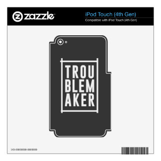 Trouble maker iPod touch 4G decal