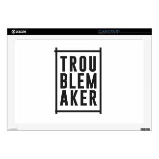 Trouble maker laptop decals