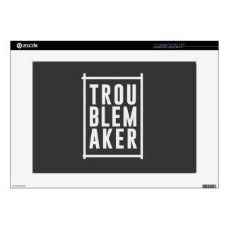 "Trouble maker skin for 15"" laptop"
