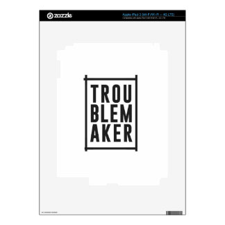 Trouble maker skin for iPad 3