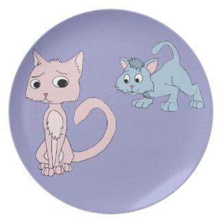 Trouble Melamine Plate