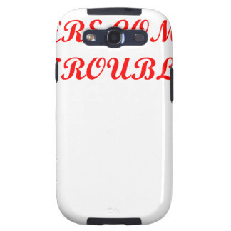 TROUBLE.png Samsung Galaxy SIII Case