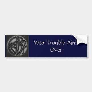Trouble Sticker