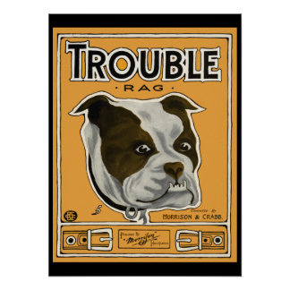 Trouble the Bulldog Poster