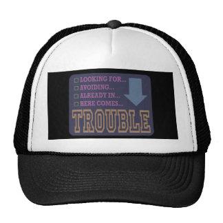 Trouble... Trucker Hat