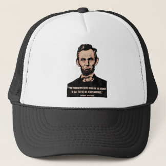 Trouble With Quotes Trucker Hat