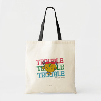 Trouble x3 tote bag