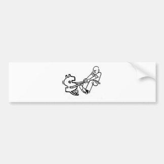 Troubled Cash Bumper Sticker