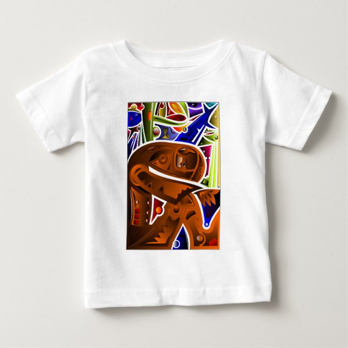 Troubled Man Baby T-Shirt