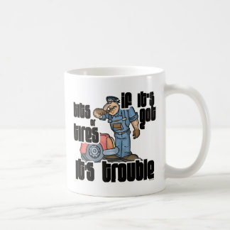 Troubled Mechanic Funny Mechanic Coffee Mug
