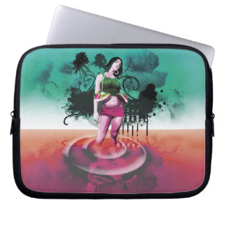 Troubled waters laptop sleeve