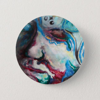 troubled waters pinback button