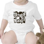 TROUBLEMAKER funny infant creeper babies